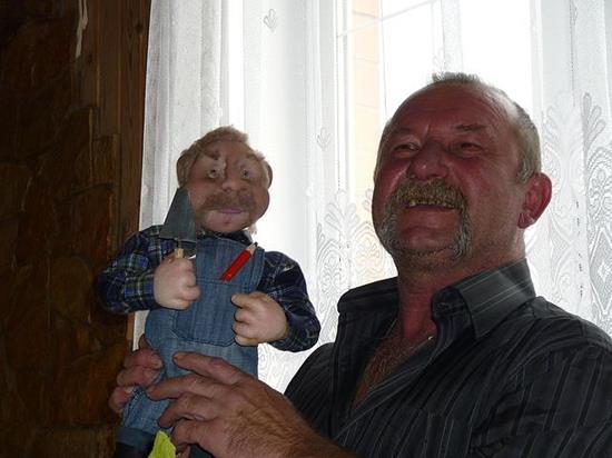 Знакомьтесь, Татьяна Переведенцева и ее куклы из чулок и колготок